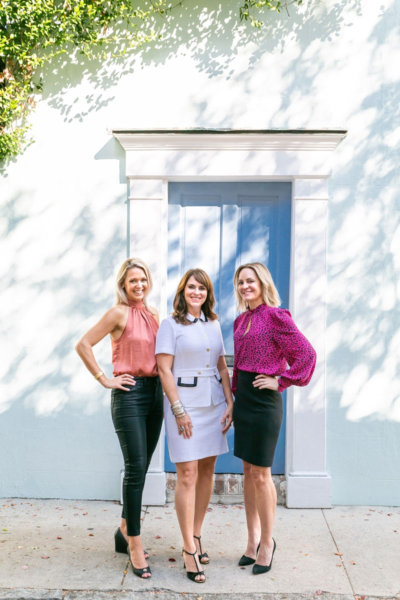 Erin Hanhauser, Tricia Peterson, and Holly Buceti of Island House Real Estate